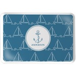 Rope Sail Boats Serving Tray (Personalized)