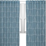 Rope Sail Boats Sheer Curtains (Personalized)