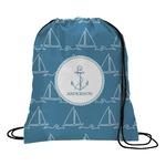 Rope Sail Boats Drawstring Backpack (Personalized)