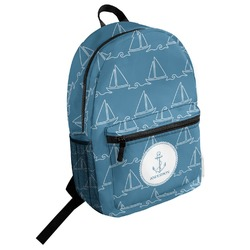 Rope Sail Boats Student Backpack (Personalized)