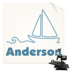 Rope Sail Boats Sublimation Transfer (Personalized)