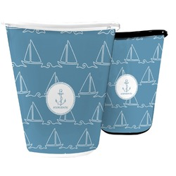 Rope Sail Boats Waste Basket (Personalized)