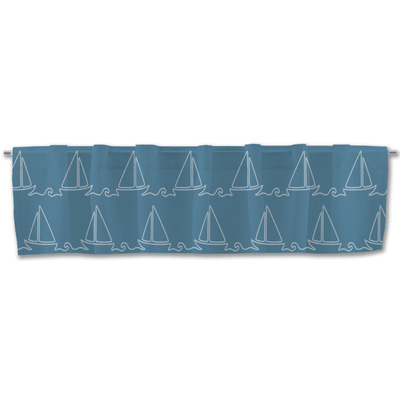 Rope Sail Boats Valance (Personalized)