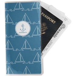 Rope Sail Boats Travel Document Holder