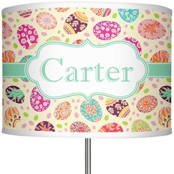 "Easter Eggs 13"" Drum Lamp Shade (Personalized)"