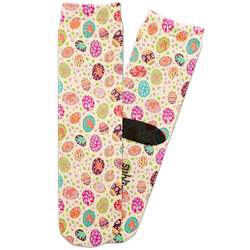 Easter Eggs Adult Crew Socks (Personalized)