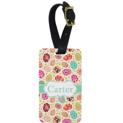 Easter Eggs Aluminum Luggage Tag (Personalized)
