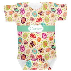 Easter Eggs Baby Bodysuit (Personalized)