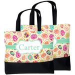 Easter Eggs Beach Tote Bag (Personalized)