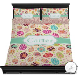 Easter Eggs Duvet Cover Set (Personalized)