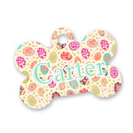 Easter Eggs Bone Shaped Dog Tag (Personalized)