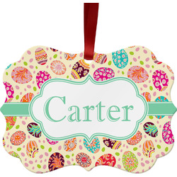 Easter Eggs Ornament (Personalized)
