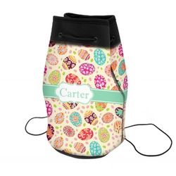 Easter Eggs Neoprene Drawstring Backpack (Personalized)