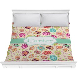 Easter Eggs Comforter - King (Personalized)