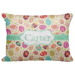 """Easter Eggs Decorative Baby Pillowcase - 16""""x12"""" (Personalized)"""