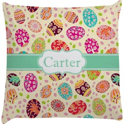Easter Eggs Decorative Pillow Case (Personalized)
