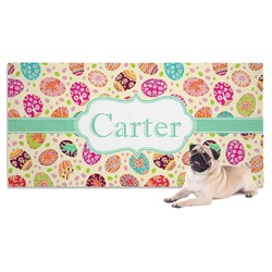 Easter Eggs Pet Towel (Personalized)