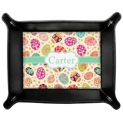 Easter Eggs Genuine Leather Valet Tray (Personalized)