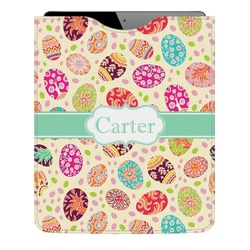 Easter Eggs Genuine Leather iPad Sleeve (Personalized)