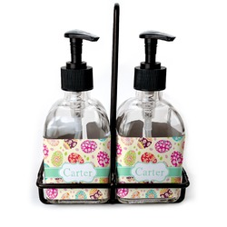 Easter Eggs Glass Soap & Lotion Bottles (Personalized)