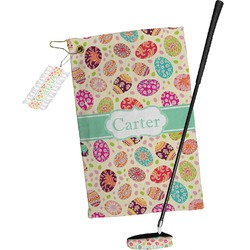 Easter Eggs Golf Towel Gift Set (Personalized)