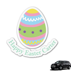 Easter Eggs Graphic Car Decal (Personalized)