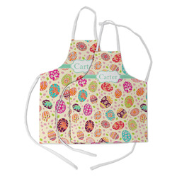 Easter Eggs Kid's Apron w/ Name or Text