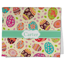 Easter Eggs Kitchen Towel - Full Print (Personalized)