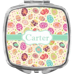 Easter Eggs Compact Makeup Mirror (Personalized)