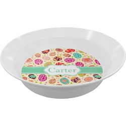 Easter Eggs Melamine Bowl (Personalized)