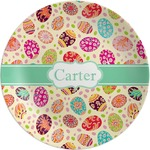 Easter Eggs Melamine Plate (Personalized)