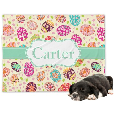 Easter Eggs Dog Blanket (Personalized)