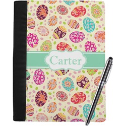 Easter Eggs Notebook Padfolio (Personalized)