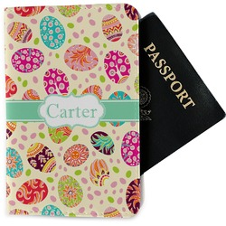 Easter Eggs Passport Holder - Fabric (Personalized)