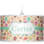 Easter Eggs Drum Pendant Lamp (Personalized)