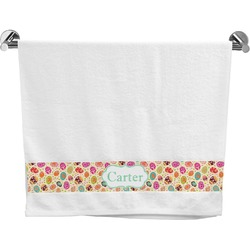 Easter Eggs Bath Towel (Personalized)