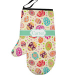 Easter Eggs Left Oven Mitt (Personalized)