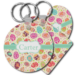 Easter Eggs Plastic Keychains (Personalized)