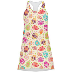 Easter Eggs Racerback Dress (Personalized)