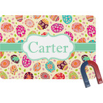 Easter Eggs Rectangular Fridge Magnet (Personalized)