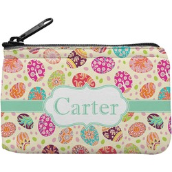 Easter Eggs Rectangular Coin Purse (Personalized)