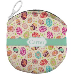 Easter Eggs Round Coin Purse (Personalized)