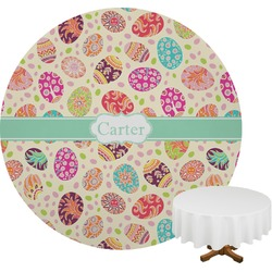 Easter Eggs Round Tablecloth (Personalized)