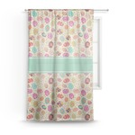 Easter Eggs Sheer Curtains (Personalized)
