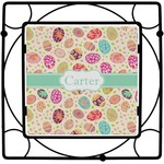 Easter Eggs Square Trivet (Personalized)