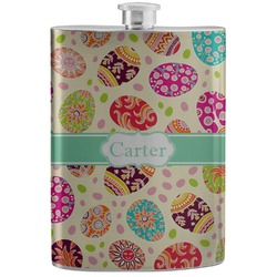 Easter Eggs Stainless Steel Flask (Personalized)