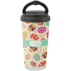 Easter Eggs Stainless Steel Coffee Tumbler (Personalized)