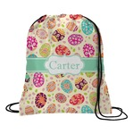Easter Eggs Drawstring Backpack (Personalized)