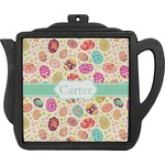 Easter Eggs Teapot Trivet (Personalized)