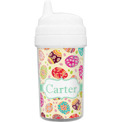 Easter Eggs Toddler Sippy Cup (Personalized)